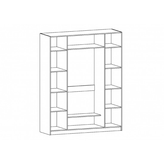 Шкаф Барокко 4Д