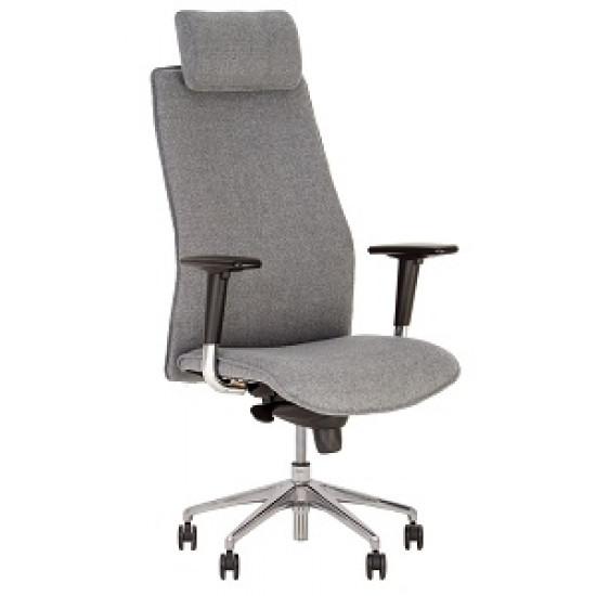 Кресло SOLO HR steel SL CHR68